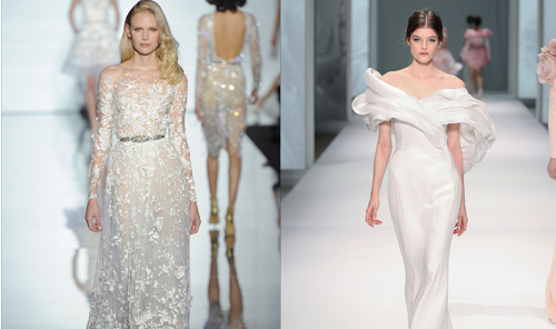 HAUTE COUTURE BRIDAL FASHION SPRING-SUMMER 2016