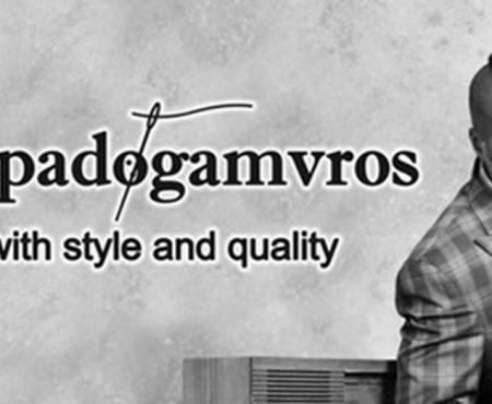 G. Papadogamvros, Χειροποίητο Ανδρικό κοστούμι