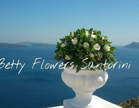 Betty Flowers-Santorini